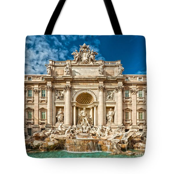 The Trevi Fountain - Rome Tote Bag