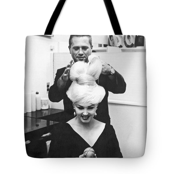 The Unisphere Hairdo Tote Bag