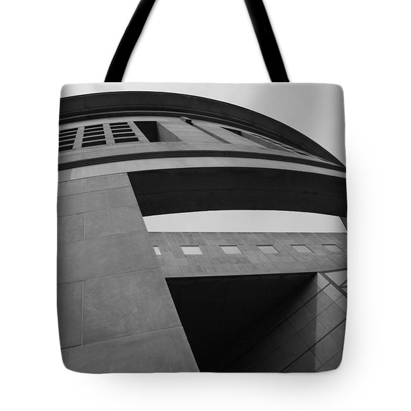 Tote Bag featuring the photograph The United States Holocaust Memorial Museum by Cora Wandel