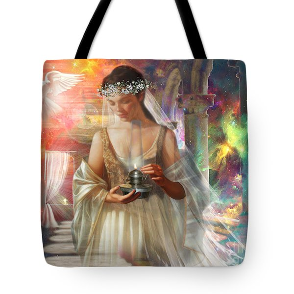 The Waiting Bride Tote Bag