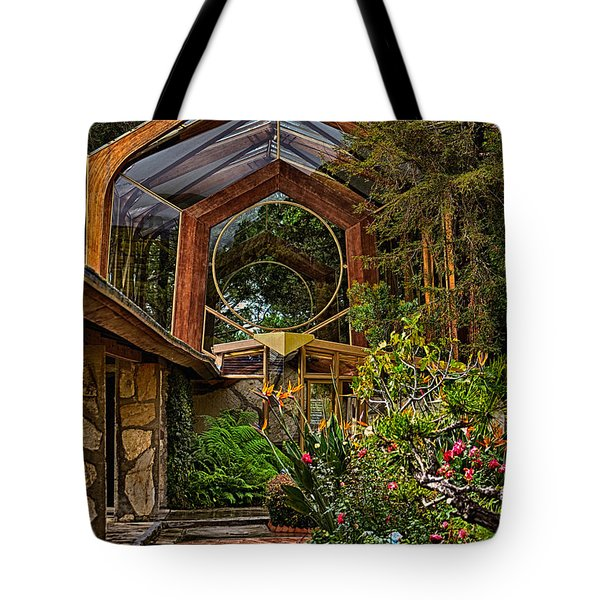 The Wayfarers Chapel Tote Bag