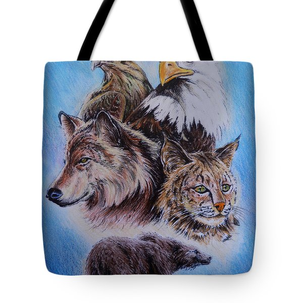 The Wildlife Collection 1  Tote Bag