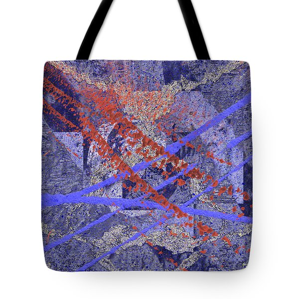 The Writing On The Wall 10 Tote Bag by Tim Allen