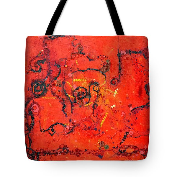 Thermal Denaturation Tote Bag
