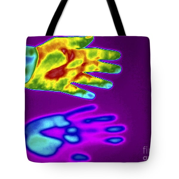 Thermogram Of A Thermal Shadow Tote Bag