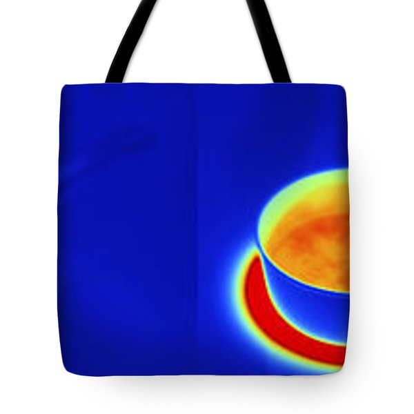 Thermograms Of Heating Up Water Tote Bag