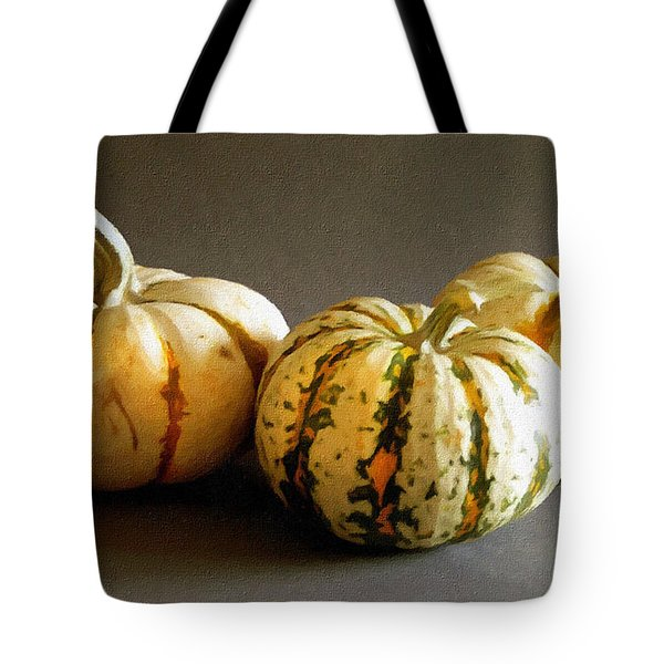 Three Gourds Tote Bag