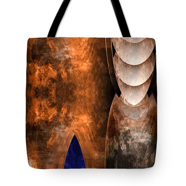 Throneroom Tote Bag by Christopher Gaston