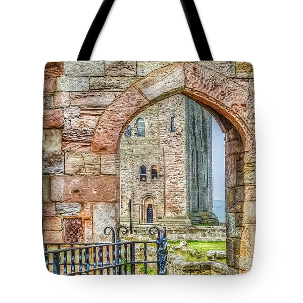 Through The Arch Tote Bag
