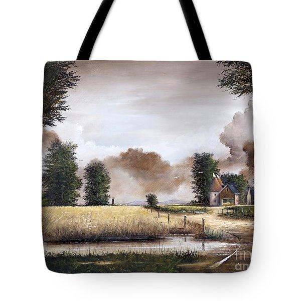 Through The Cornfield Tote Bag