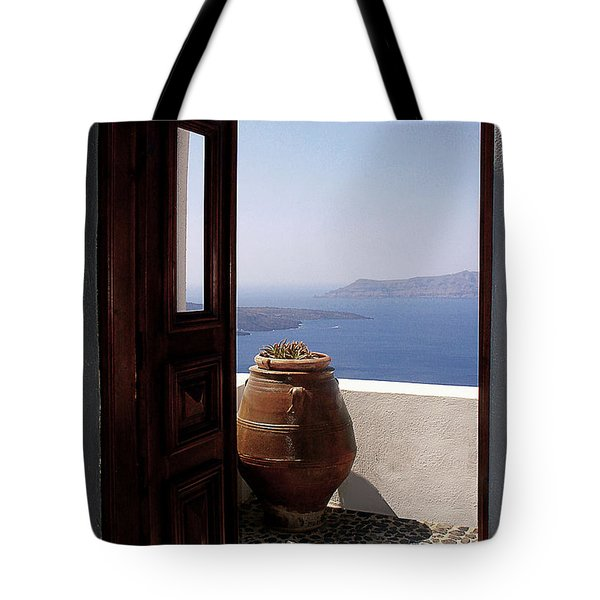Through This Door Tote Bag by Julie Palencia