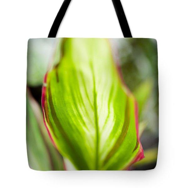 Ti-leaf Macro Tote Bag