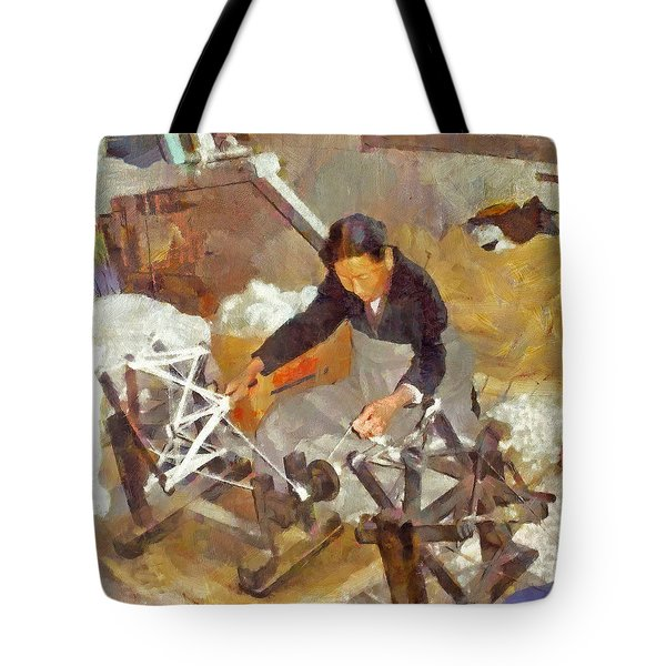 Tibetan Refugee Self Help Center  Tote Bag