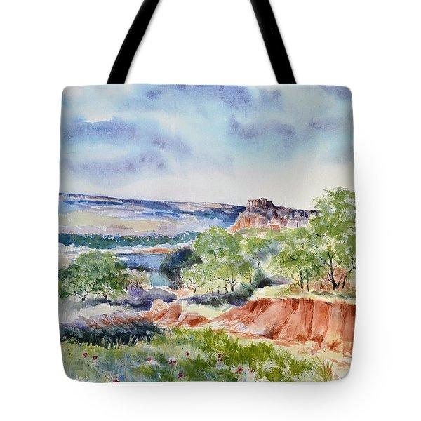 Timbercreek Canyon Tote Bag by Joan Hartenstein