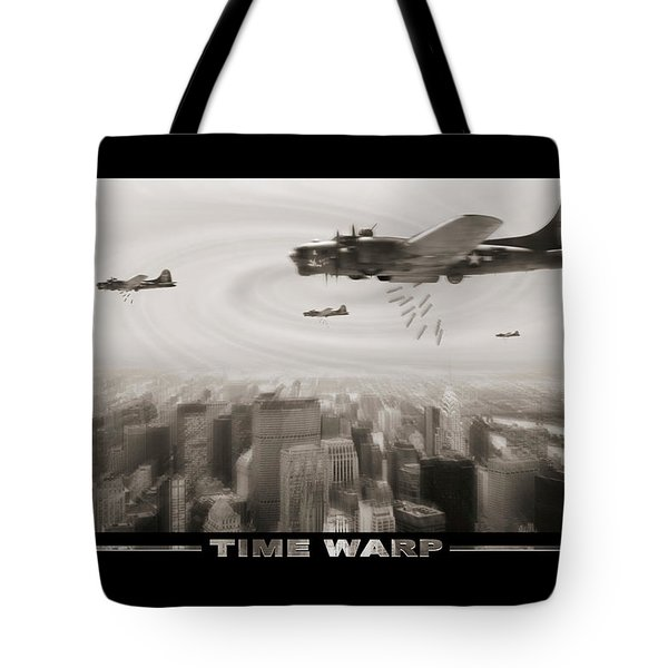 Time Warp Tote Bag by Mike McGlothlen