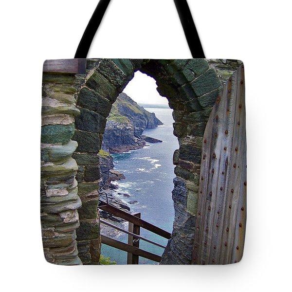 Tintagel Portal Tote Bag