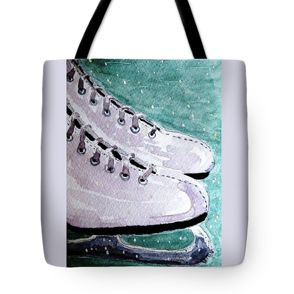 To Skate Tote Bag by Angela Davies