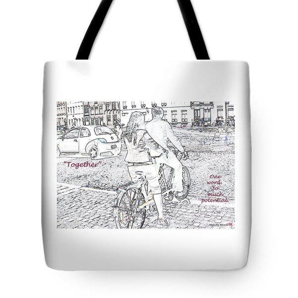 Together Tote Bag by Rhonda McDougall