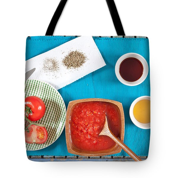 Tomatoes Tote Bag by Tom Gowanlock