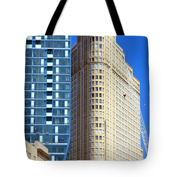 Toronto Architecture Tote Bag by Valentino Visentini