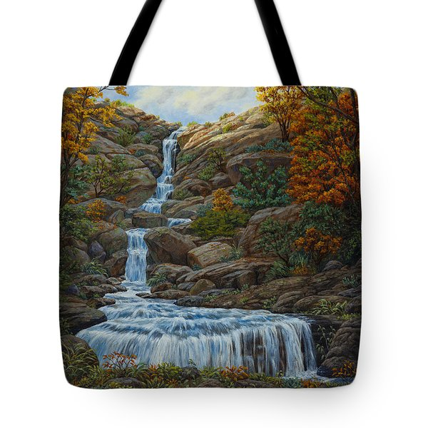 Tranquil Cove Tote Bag by Crista Forest