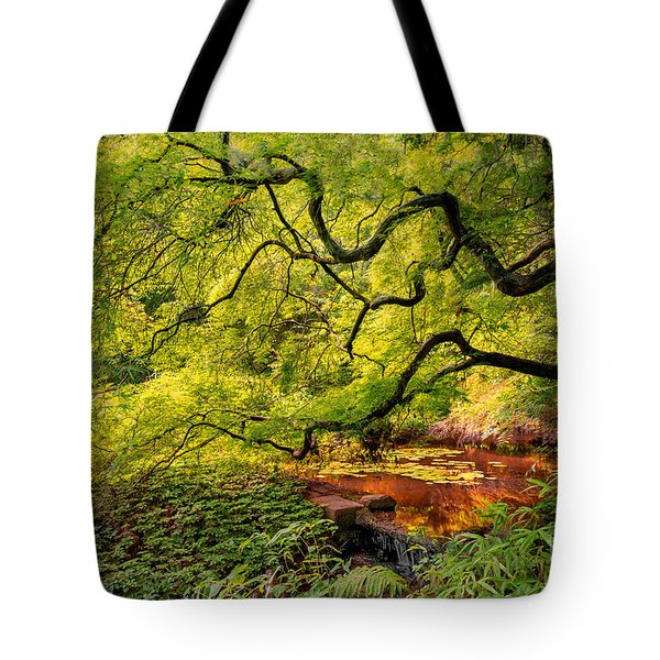 Tranquil Shade Tote Bag