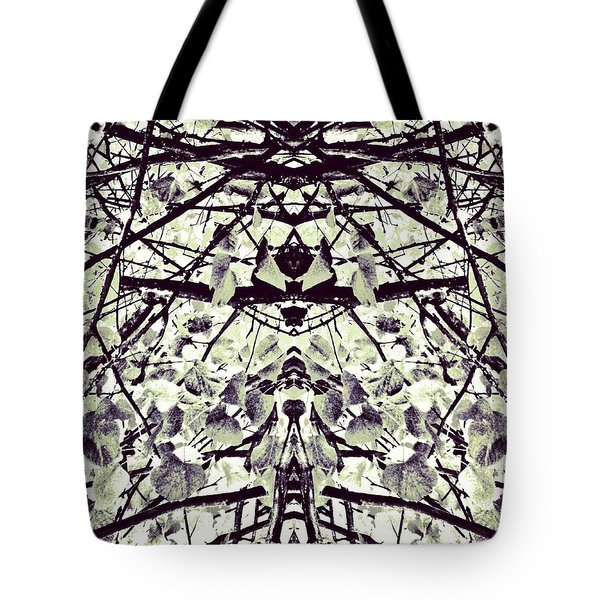 Tree Branches B 'n' W 2 Tote Bag