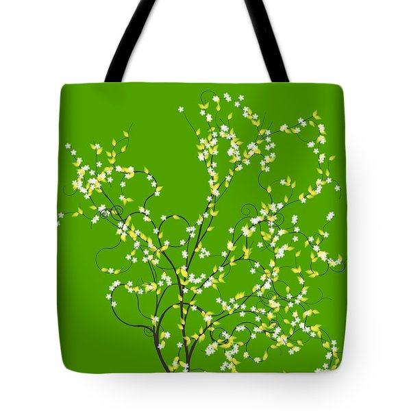 Trees Of Life Tote Bag by Charles Dobbs