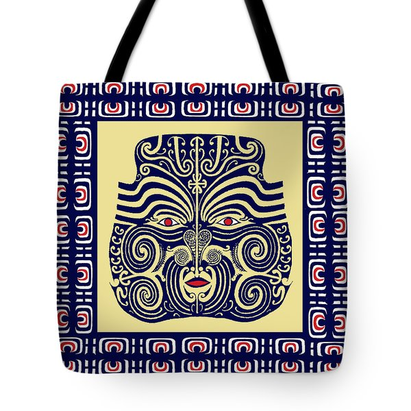 Marquesas Tribal Spirits Tote Bag