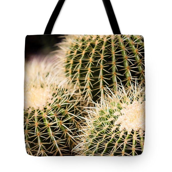 Triple Cactus Tote Bag