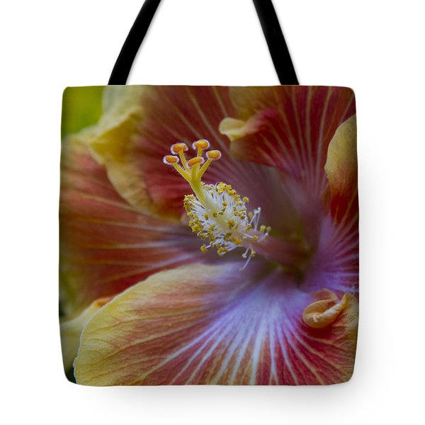 Tropical Hibiscus - Maui Hawaii Tote Bag by Sharon Mau