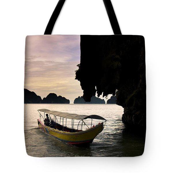 Tropical Holiday In Asia Tote Bag