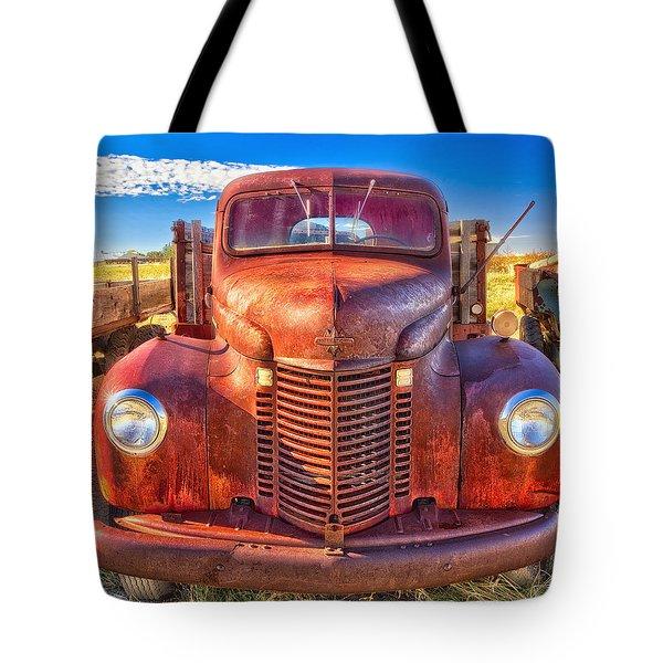 International Rust Tote Bag