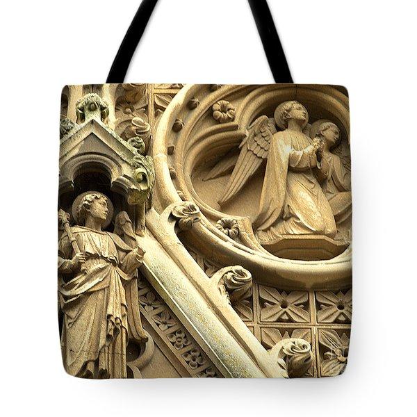 Truro Cathedral Tote Bag by Rachel Mirror