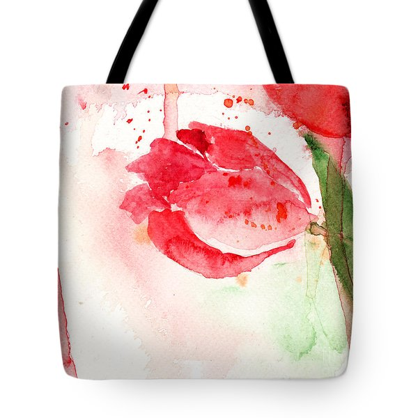 Tulip Flower Tote Bag