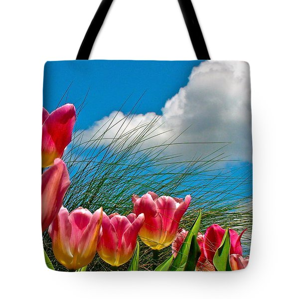 Flower 8 Tote Bag