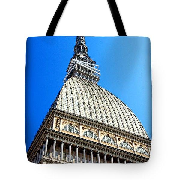 Turin Mole Antonelliana Tote Bag