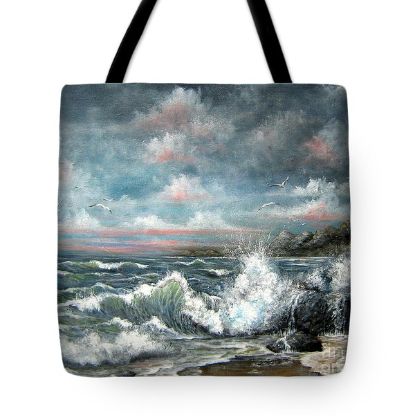 Turning Tide Tote Bag