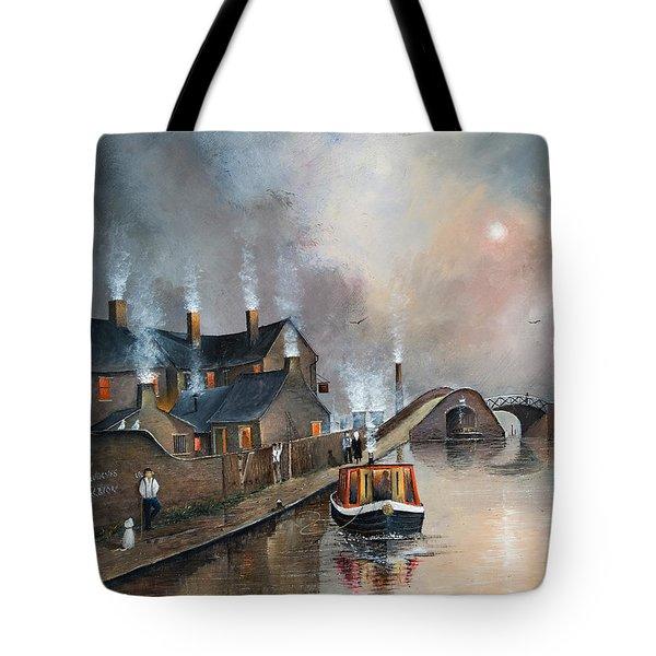 Twilight Departure Tote Bag