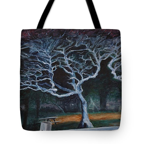Twisted Night Tote Bag