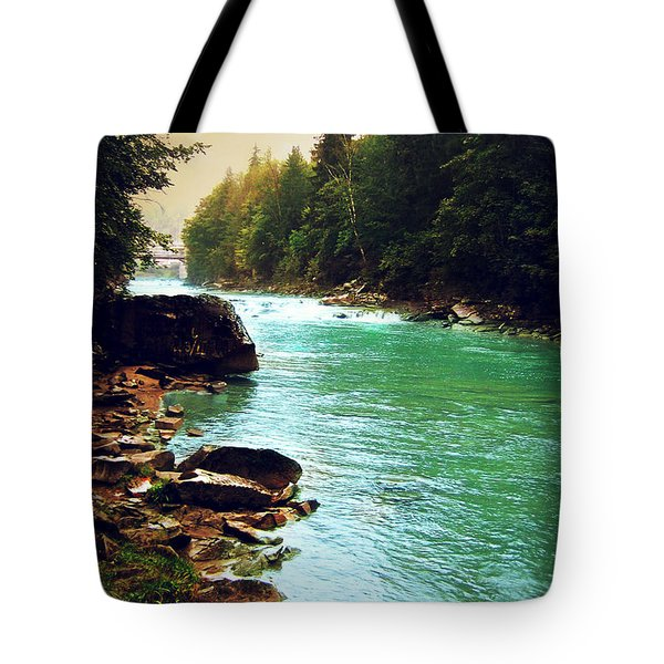 Ukrainian River Tote Bag