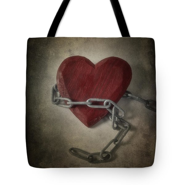 Unchain My Heart Tote Bag by Joana Kruse