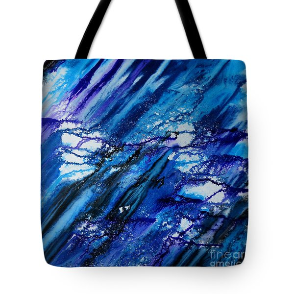Blue Wind Tote Bag