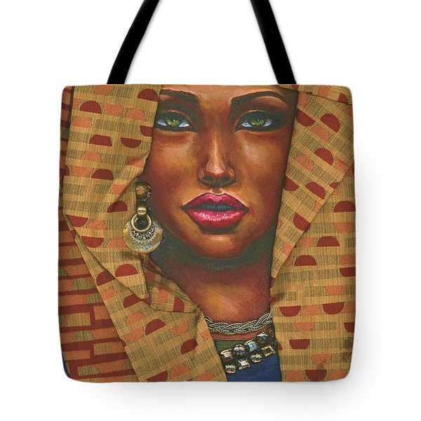 Headwrap Tote Bag