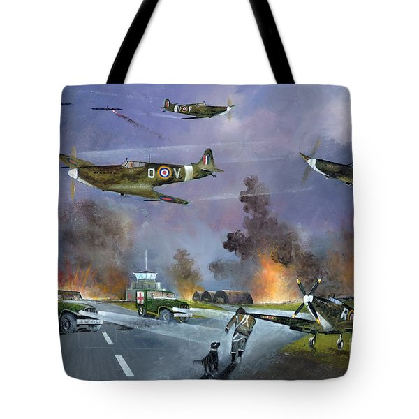 Up For The Chase Tote Bag