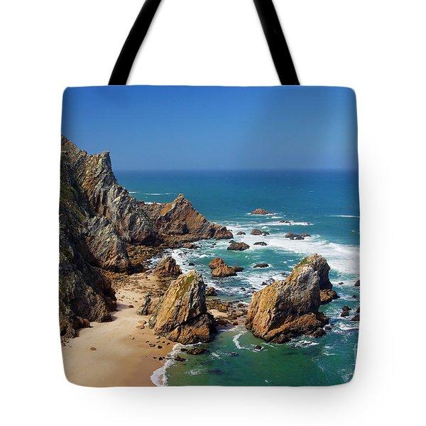 Ursa Beach Tote Bag by Carlos Caetano