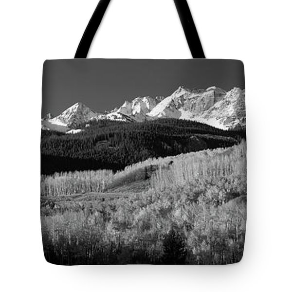 Usa, Colorado, Rocky Mountains, Aspens Tote Bag