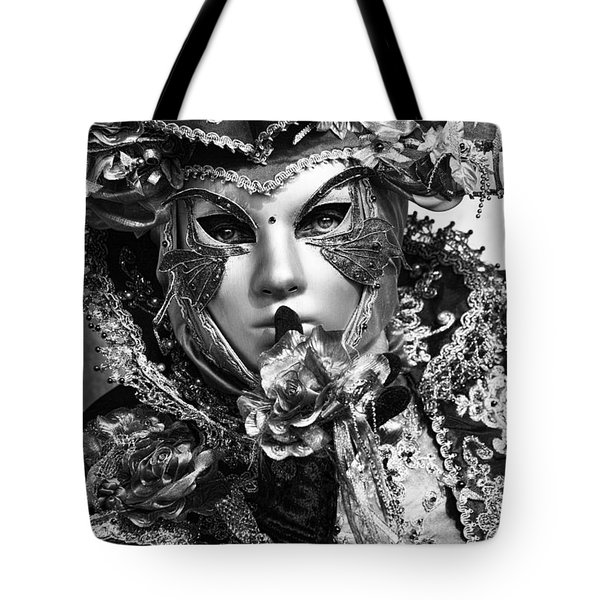 Venetian Mask Tote Bag