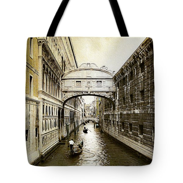 Venice City Of Canals  Tote Bag