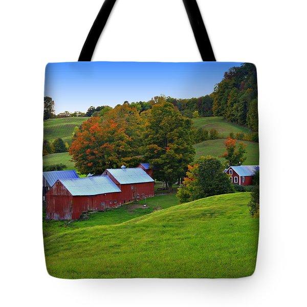 Vermont's Jenne Farm Tote Bag